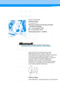 Microsoft Authorized Education Reseller - Academic Licensing
